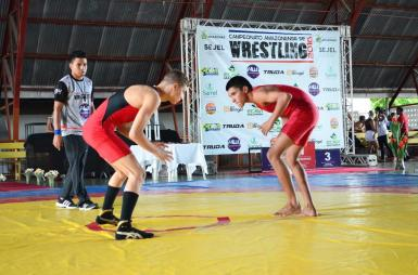 Wrestling - Tasso Alves vs Allan Ferreira - AM de 2016 - foto by Emanuel Mendes Siqueira