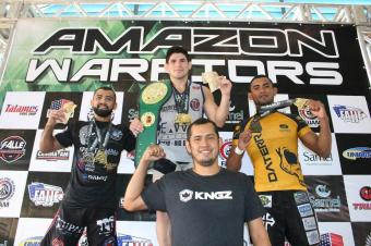Amazon Warriors - pódio Absoluto Preta até 75 kg - - by Emanuel Mendes Siqueira