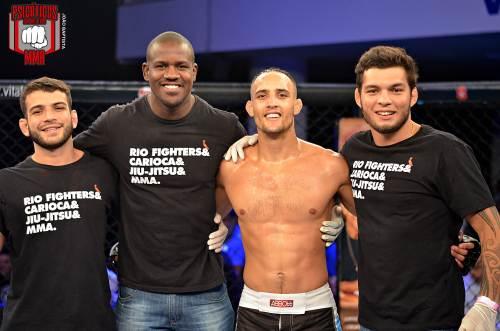 O atleta da Rio Fighters levou a melhor por unanimidade sem margem para dúvidas