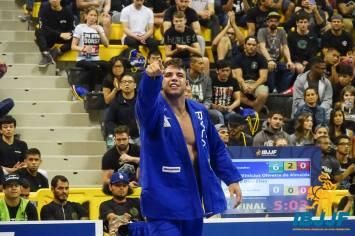 Buchecha conquistou seu décimo título mundial no último domingo (Divulgação/IBJJF)