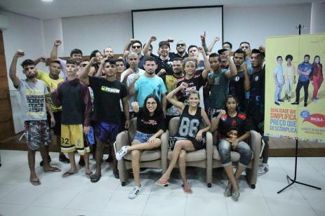 Top Fight - atletas e organização na pesagem - foto 1 - by Emanuel Mendes Siqueira
